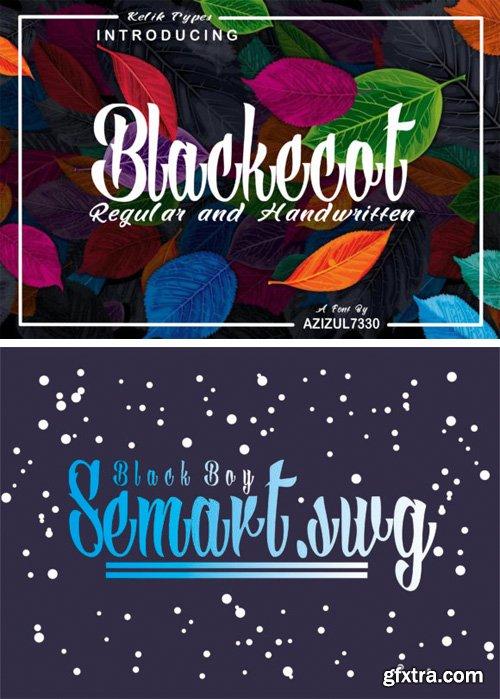 Blackecot Font