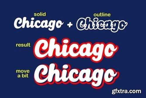 CM - Chicago Font 3762602