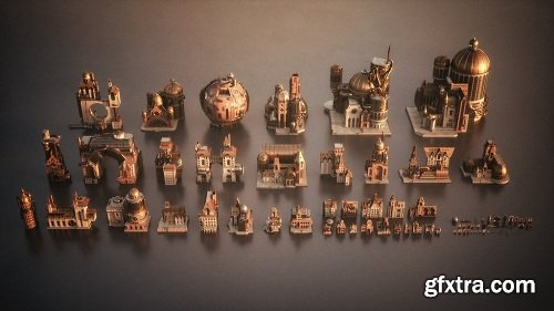 Kitbash3D - Steampunk