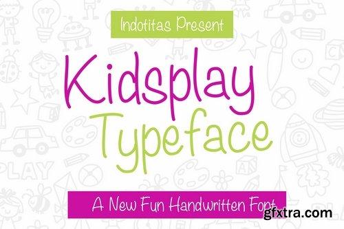 Kidsplay Typeface
