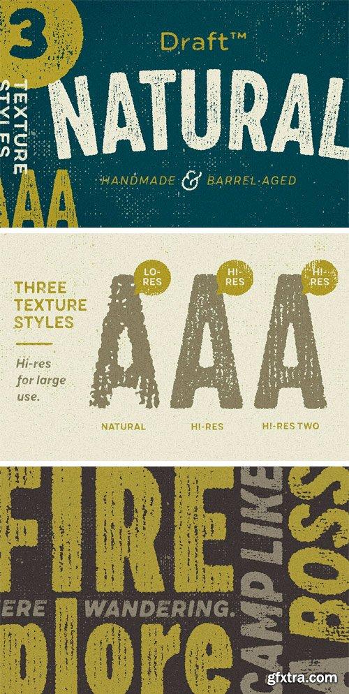 Draft Natural Font Family