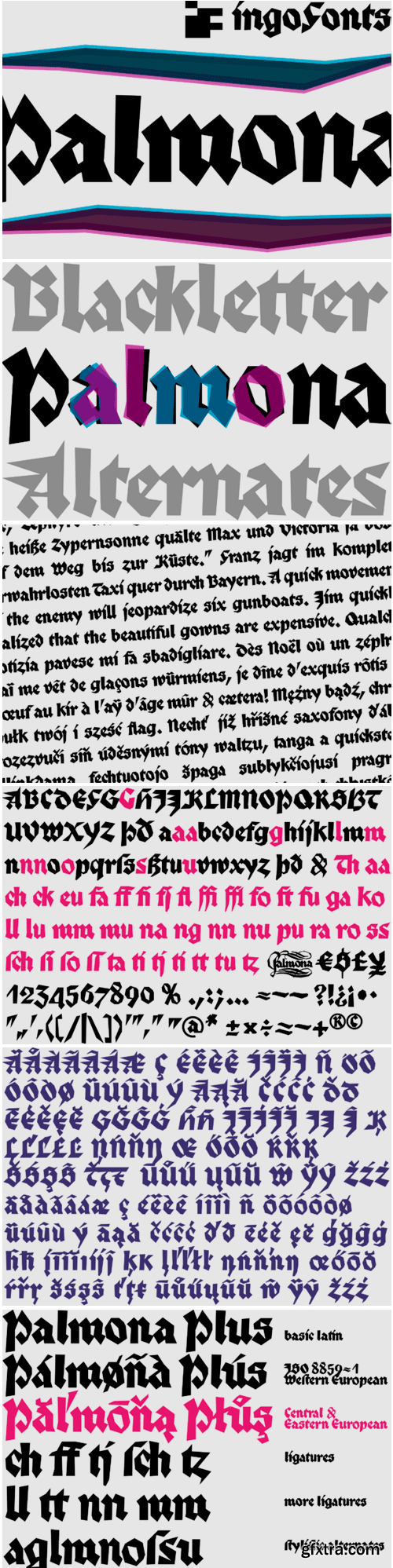 Palmona Plus Font