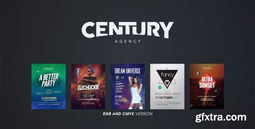 Videohive - 5-Pack Animated Party Flyers - 20391333
