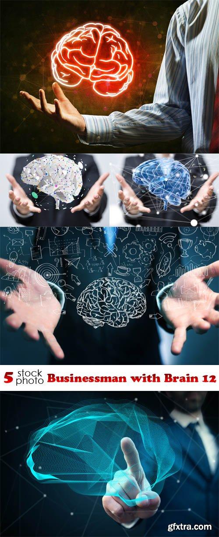 Photos - Businessman with Brain 12