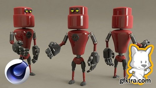 3D Character Creation in Cinema 4D: Modeling a 3D Robot