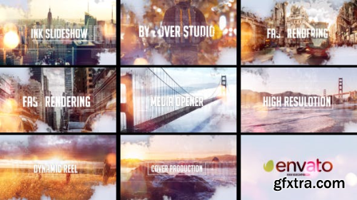 VideoHive Ink Slideshow 13430438
