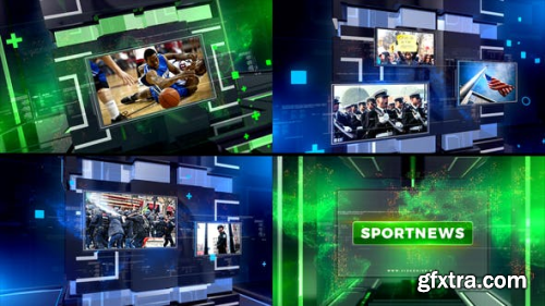 VideoHive News Broadcast 21863359