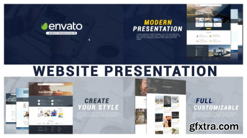 VideoHive Minimal Website Presentation 19260575