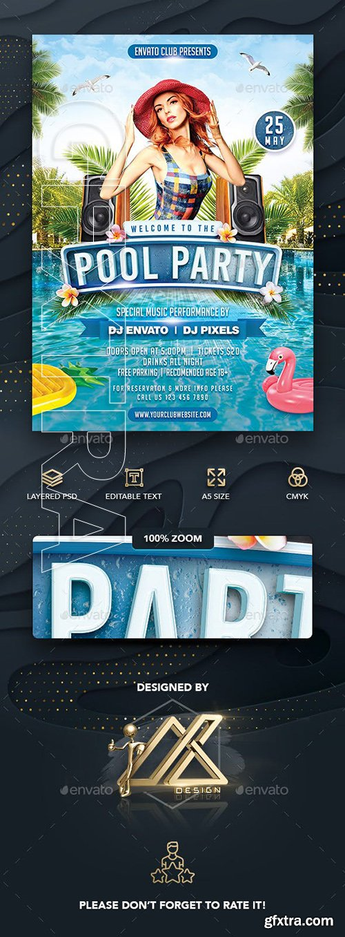 GraphicRiver - Pool Party 23779632