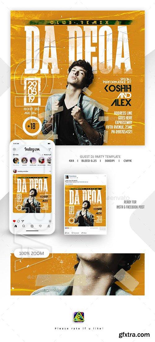 GraphicRiver - Dj Tour Flyer Template 23778584