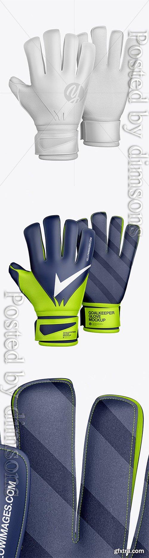 Goalkeeper Gloves Mockup 39972