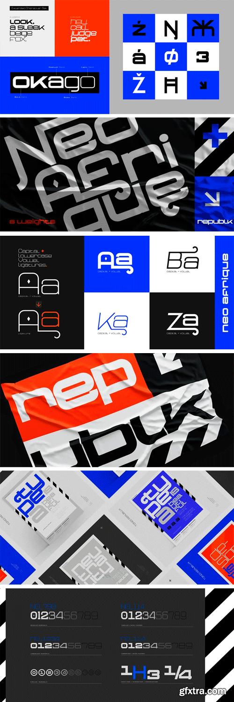 Neo Afrique Pro Font Family