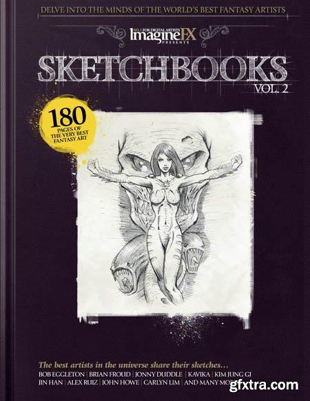 ImagineFX - Sketchbooks Volume 2, 2019