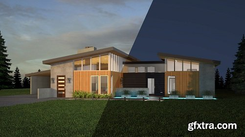 Lynda - 3ds Max and V-Ray: Exterior Lighting and Rendering