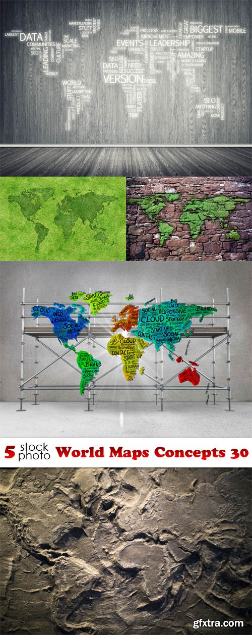 Photos - World Maps Concepts 30