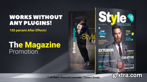 VideoHive The Magazine Promotion 23496590