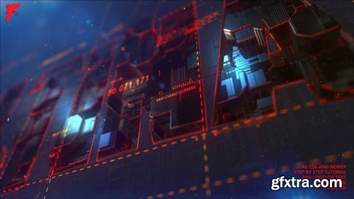 VideoHive Transforming Element3D Logo 22717989