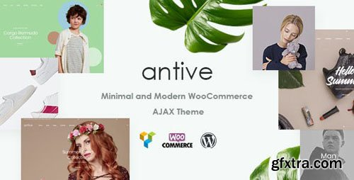 ThemeForest - Antive v1.5.1 - Minimal and Modern WooCommerce AJAX Theme (RTL Supported) - 21964624