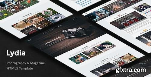 ThemeForest - Lydia v1.0.5 - Photography Template for Photographers - 12931793
