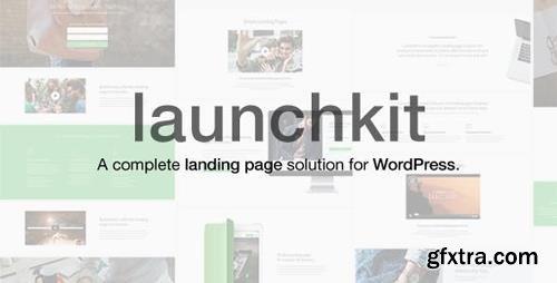 ThemeForest - Launchkit v1.1.22 - Landing Page & Marketing WordPress Theme - 11323554