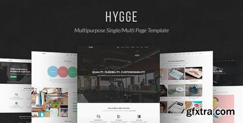 ThemeForest - Hygge v1.0.5 - Multipurpose Single/Multi Page Template - 12245386