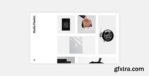 ThemeForest - Flamini v1.0.2 - Studio/Agency Portfolio WordPress Theme for Elementor - 22361368