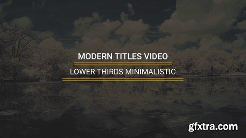 Lower Thirds Minimalistic 225894