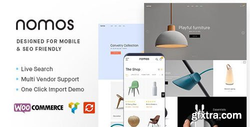 ThemeForest - Nomos v2.3.3 - Modern AJAX Shop Designed For Mobile And SEO Friendly (RTL Supported) - 22334460