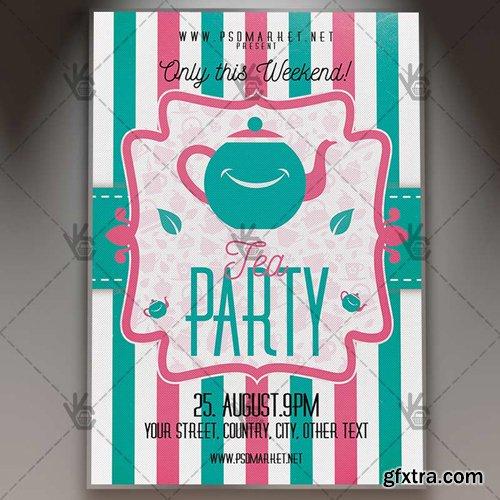 High Tea Party Flyer – PSD Template