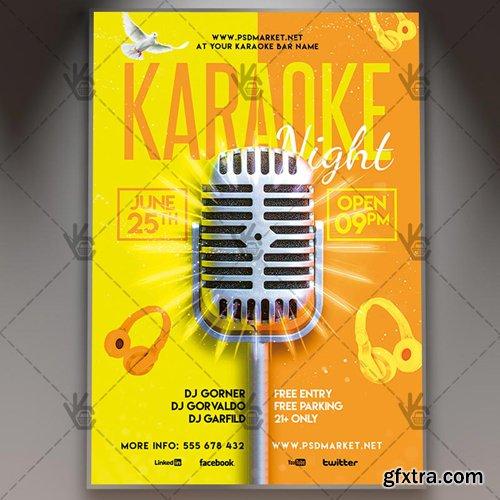 Karaoke Night Flyer – PSD Template