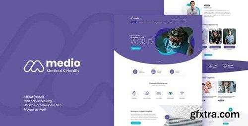 ThemeForest - Medio v1.0.1 - Medical Organization WordPress Theme - 23489900