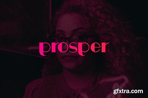 Prosper - Display Typeface + WebFonts
