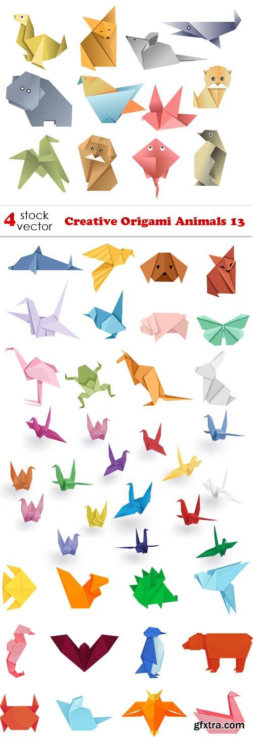 Vectors - Creative Origami Animals 13
