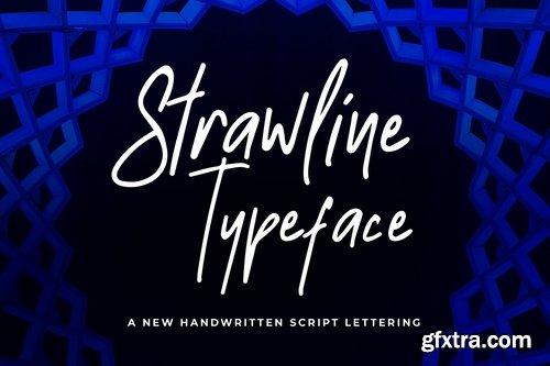Strawline Typeface