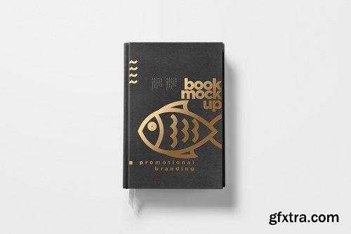 5 Hardcover Book Design Mockups