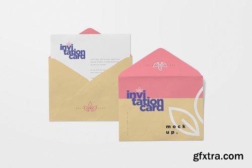 Envelope & Card Mockups