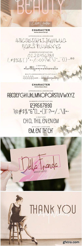 Hollen Amare Font