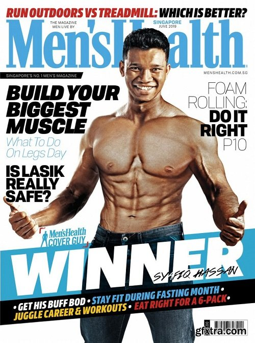 Men\'s Health Singapore - June 2019