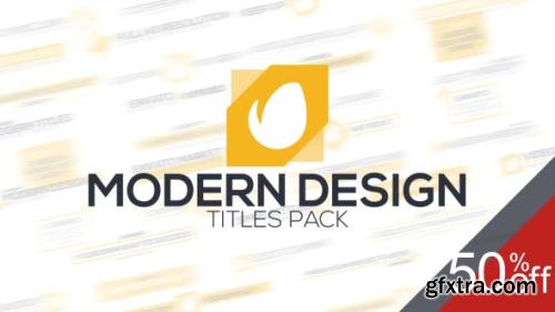 VideoHive Modern Titles 15599486