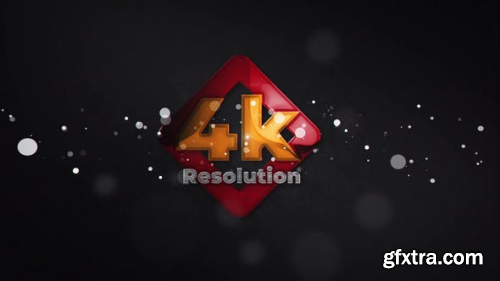 VideoHive Glossy Particle Logo Reveal 23826048