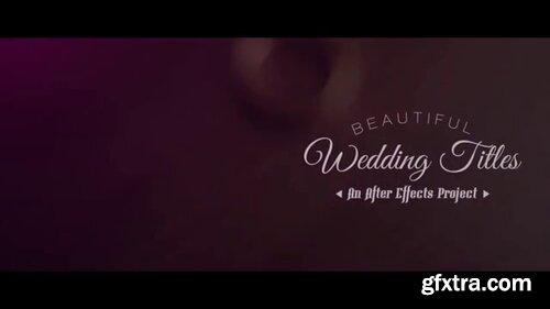 Pond5 - Wedding Titles - 090679976