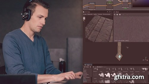 Pluralsight - Creating Game Environment Textures with Substance Suite