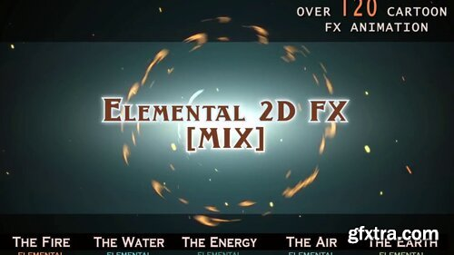 Videohive - Elemental 2D FX [MIX] - 14292431 - V2