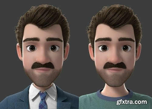Cgtrader - Cartoon Man 3D model