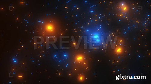 Orange Blue Sparks Fly 230730