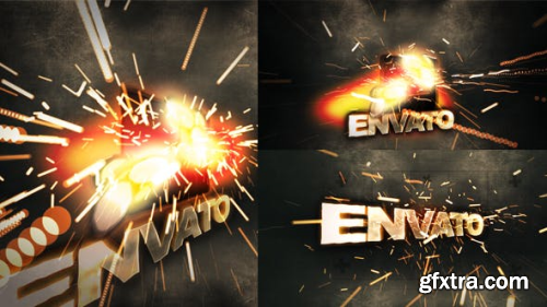 VideoHive Sparky Title 16252791