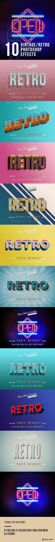 GraphicRiver - Retro Vintage Text Effects 23825859