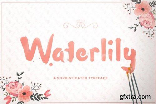 CM - Waterlily Font 178975