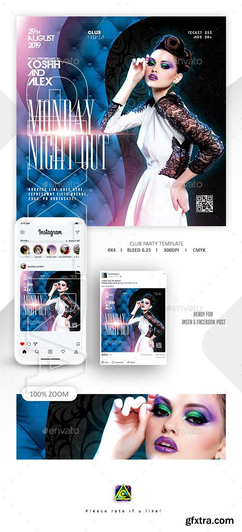 GraphicRiver - Club Party Flyer 23811370