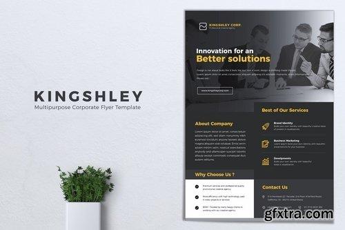 KINGSHLEY Multipurpose Corporate Flyer